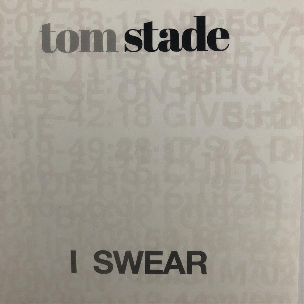 Tom Stade I SWEAR COMEDY ALBUM COVER